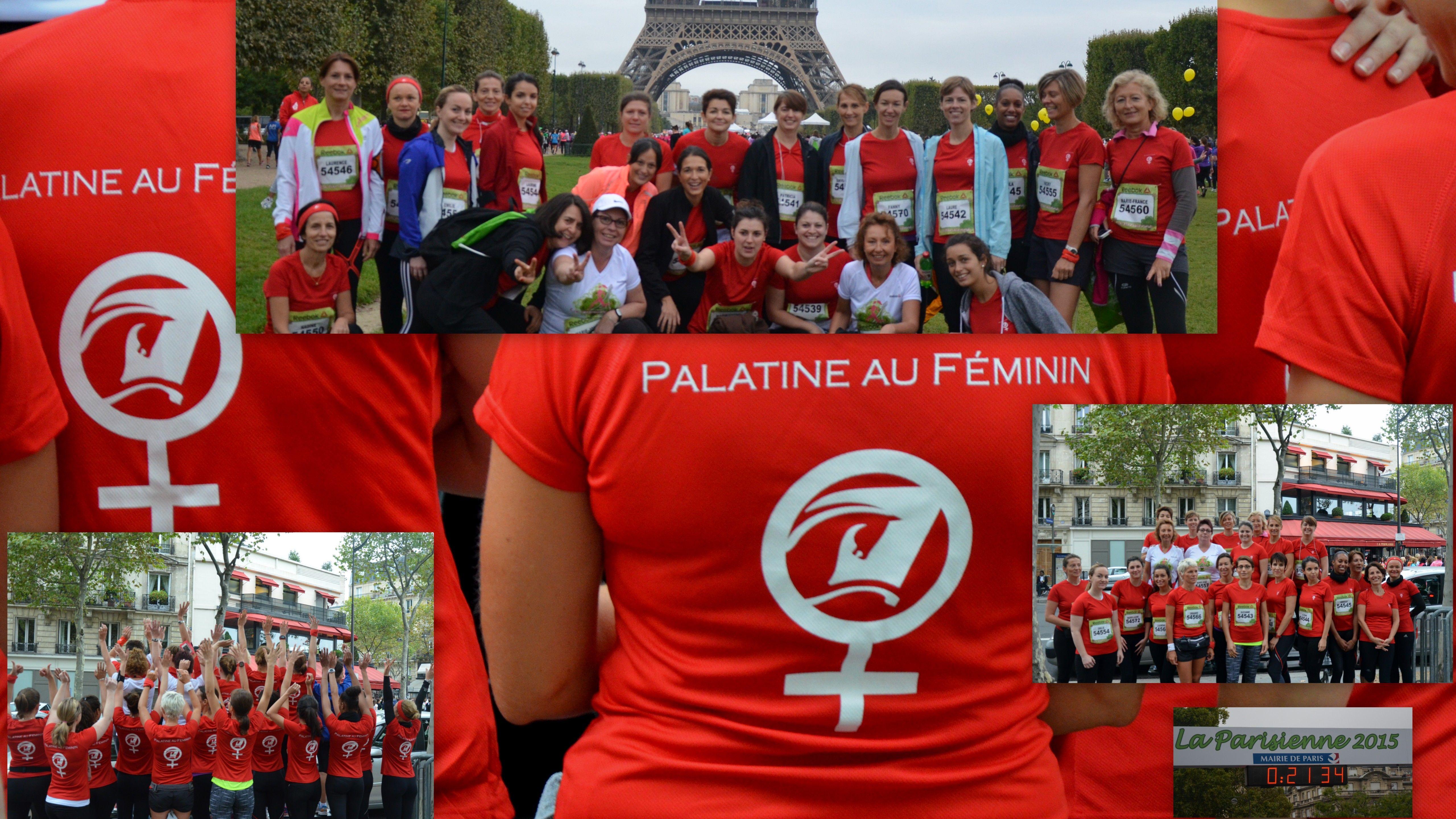 Participation du réseau Palatine au Féminin à la course «La Parisienne»