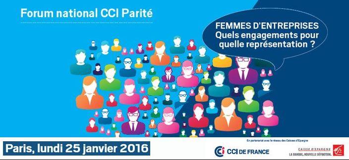 Forum national CCI Parité : la Caisse d'Epargne toujours aux côtés des femmes entrepreneures