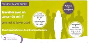 Colloque cancer du sein Montpellier