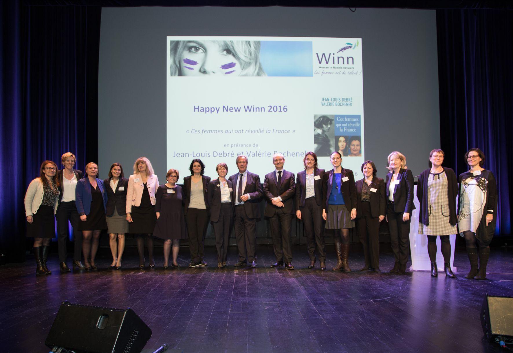 Le réseau «Winn» de Natixis a organisé son premier événement 2016