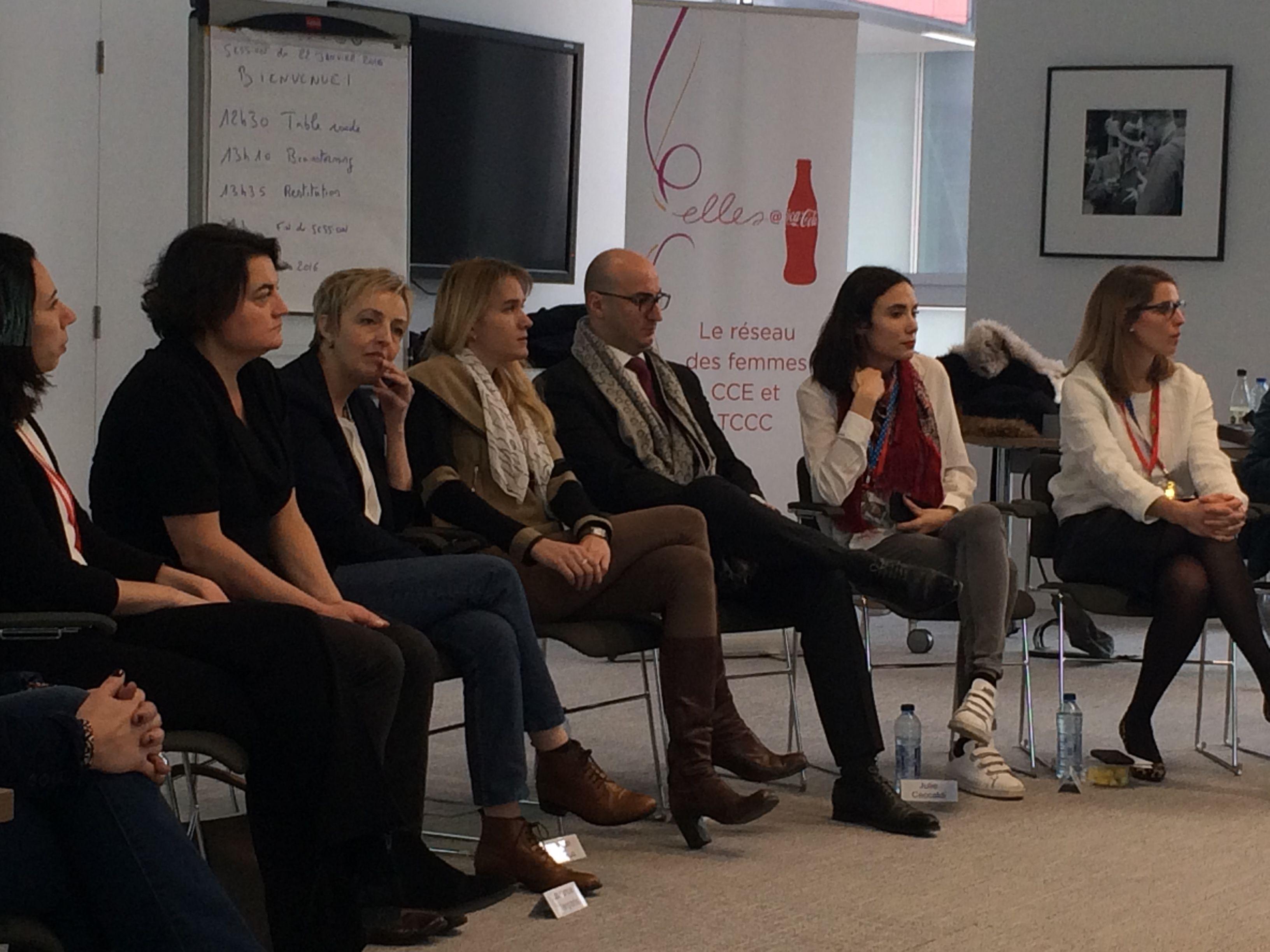 Mixité by CERA invité à l'événement inter-réseau organisé par Elles@Coca-Cola