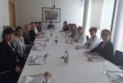 Petit déjeuner des Elles du Groupe BPCE en présence de Catherine Halberstadt