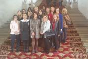 Les Elles d'Azur de la CECAZ en visite au Sénat