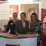 Forte mobilisation d'Isabelle RODNEY, fer de lance du réseau des Elles d'Azur de la CECAZ, pour « Les Entreprenariales 2016 » dédiées aux femmes entrepreneures