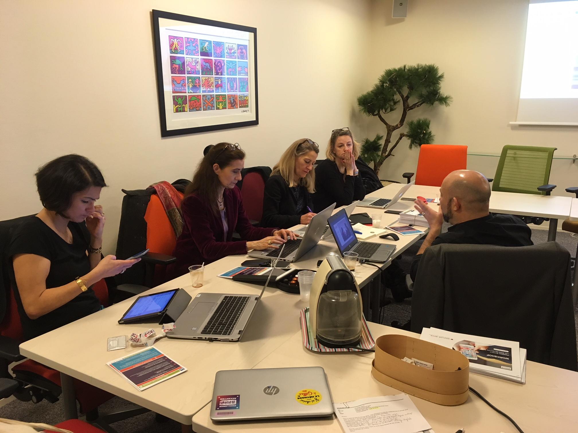 Premier atelier digital «réseaux sociaux» pour les elles du Groupe BPCE