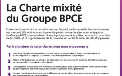 Charte Mixité : des engagements concrets pour le Groupe BPCE